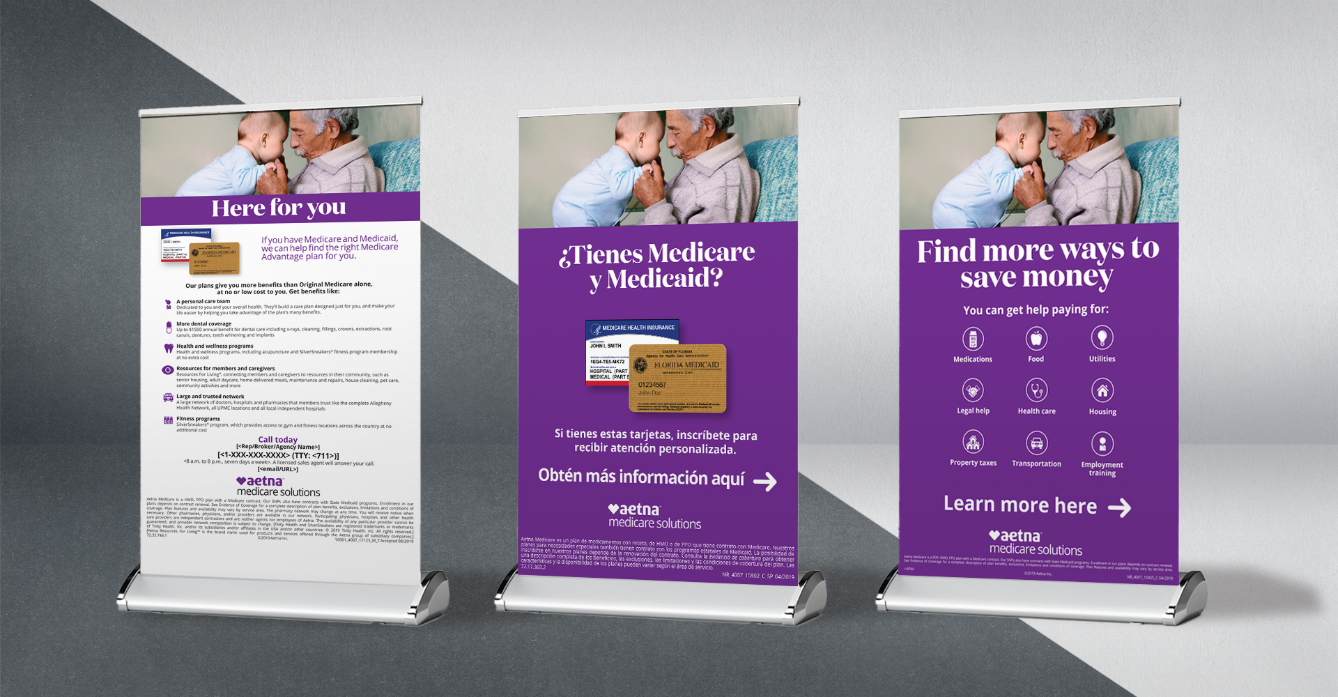 Aetna MMS Catalog and DSNP Creative