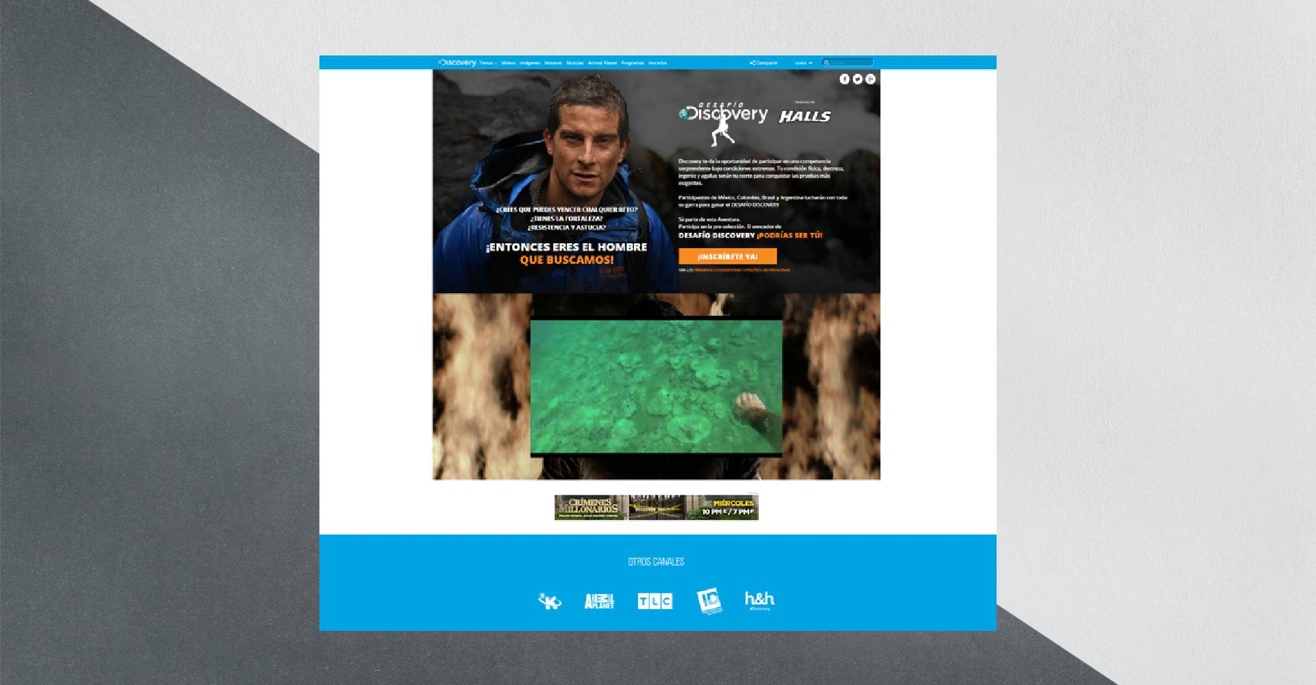 Discovery Channel site