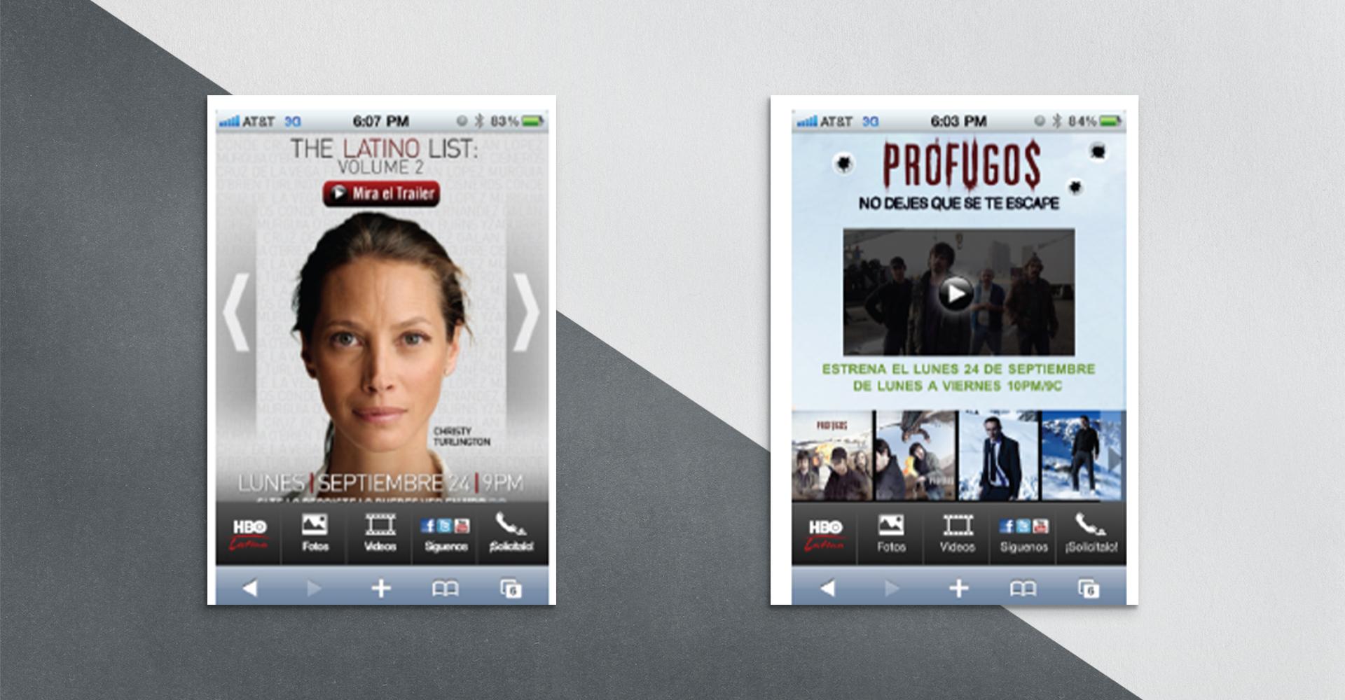 HBO Latino app