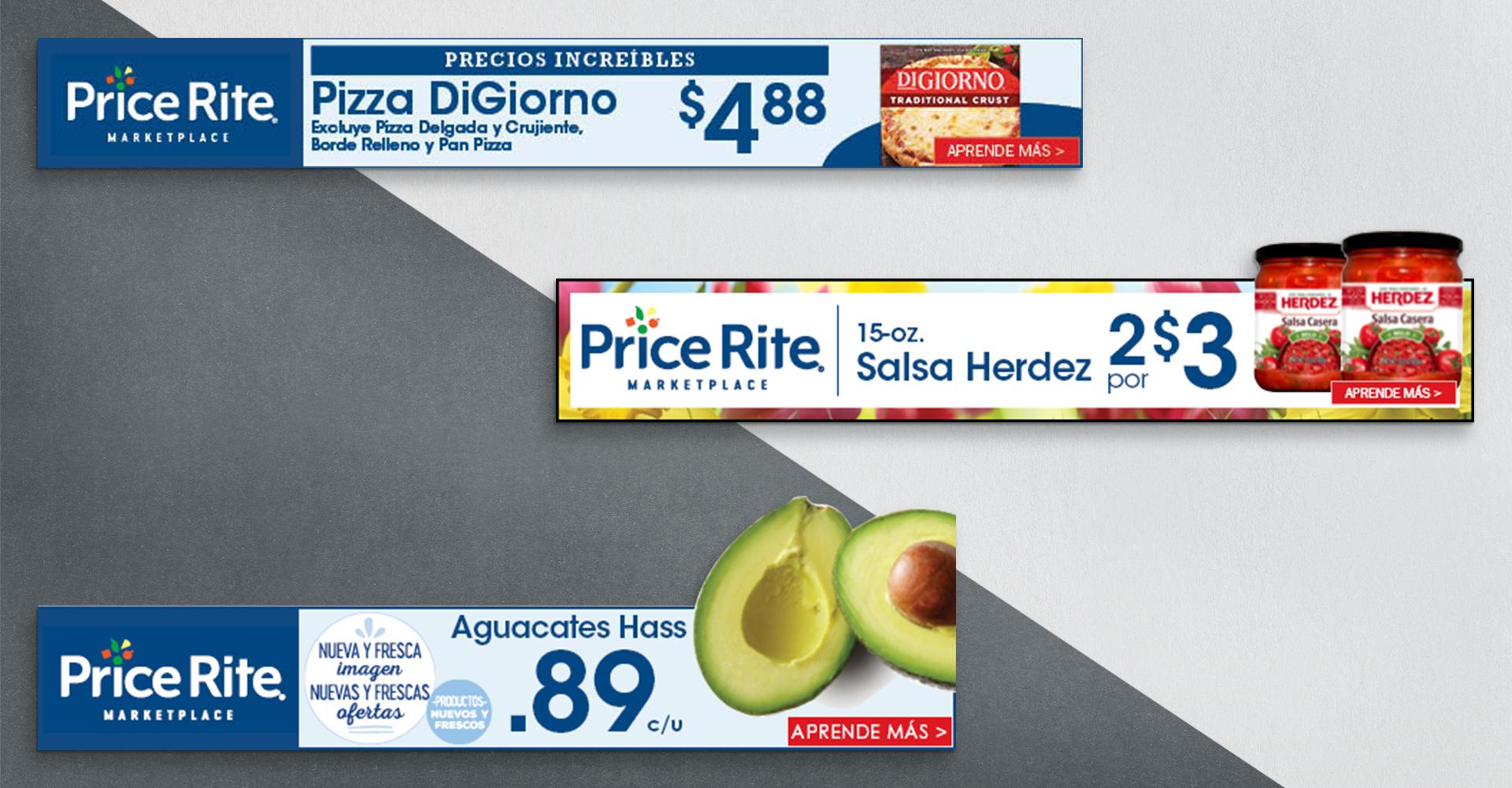 PriceRite digital display