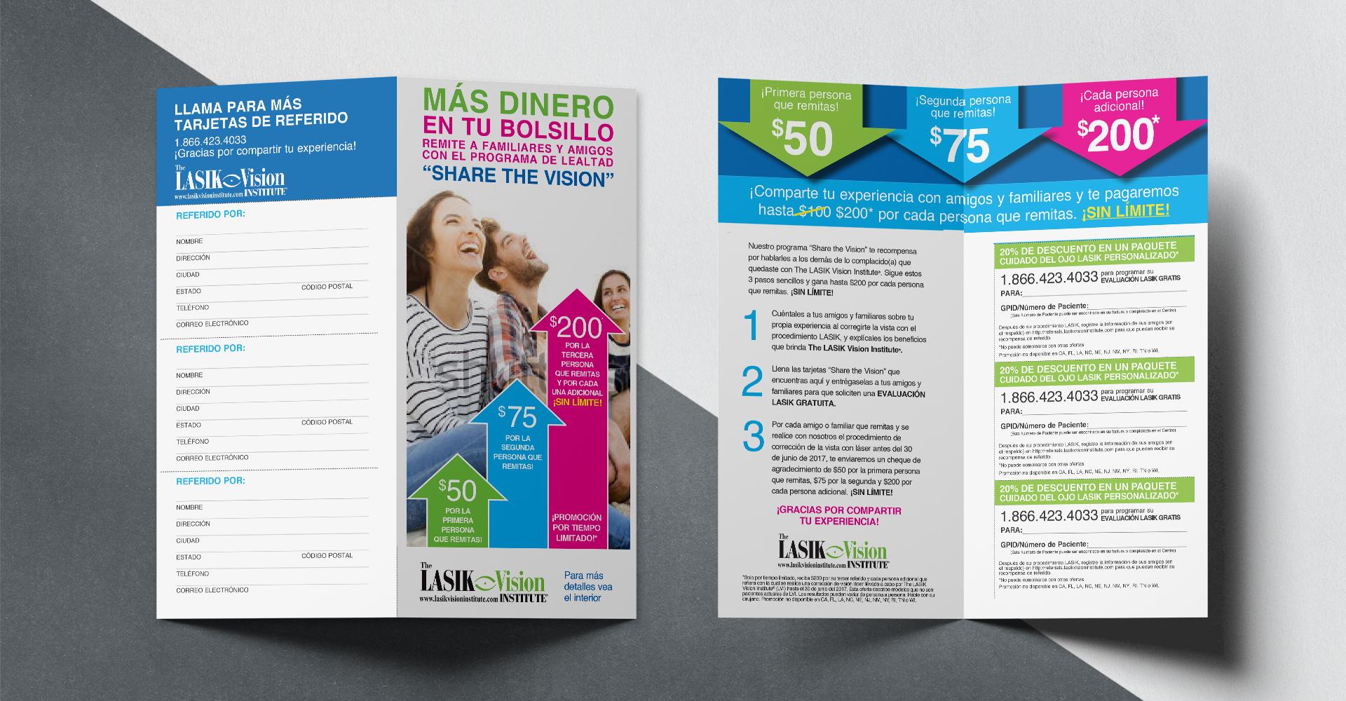 The Lasik Vision Institute brochure