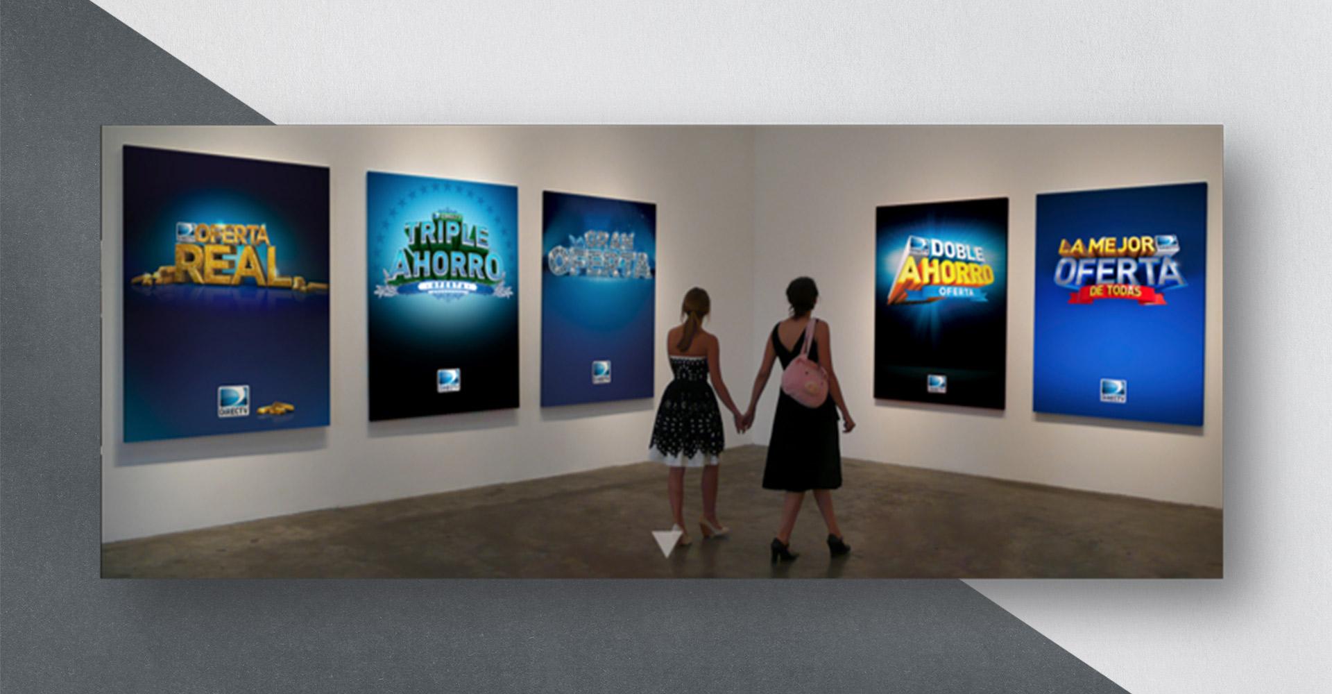 DiectTV digital display