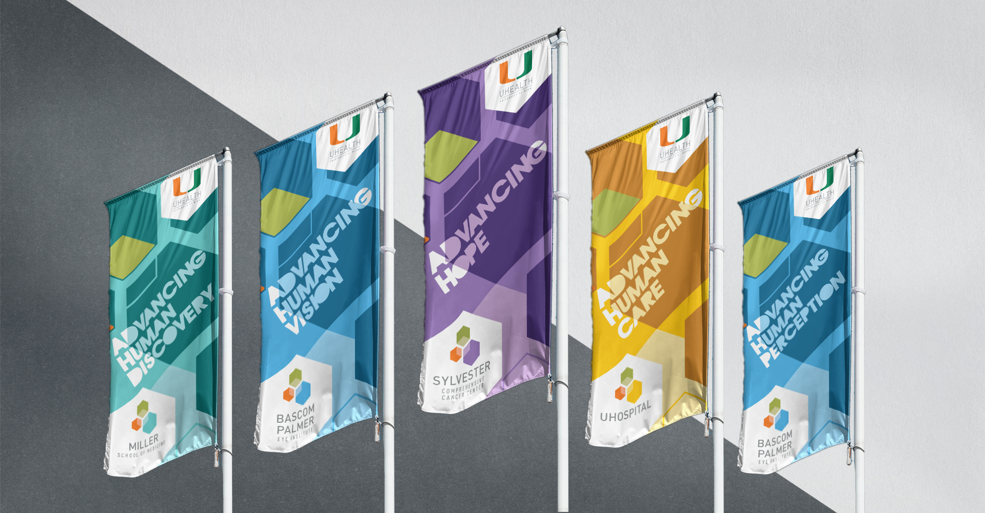 UHealth flags