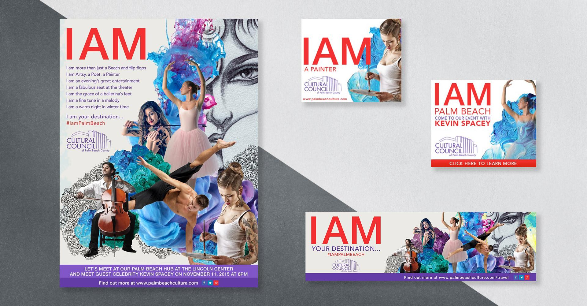 """I Am Palm Beach"" Concept Creative"